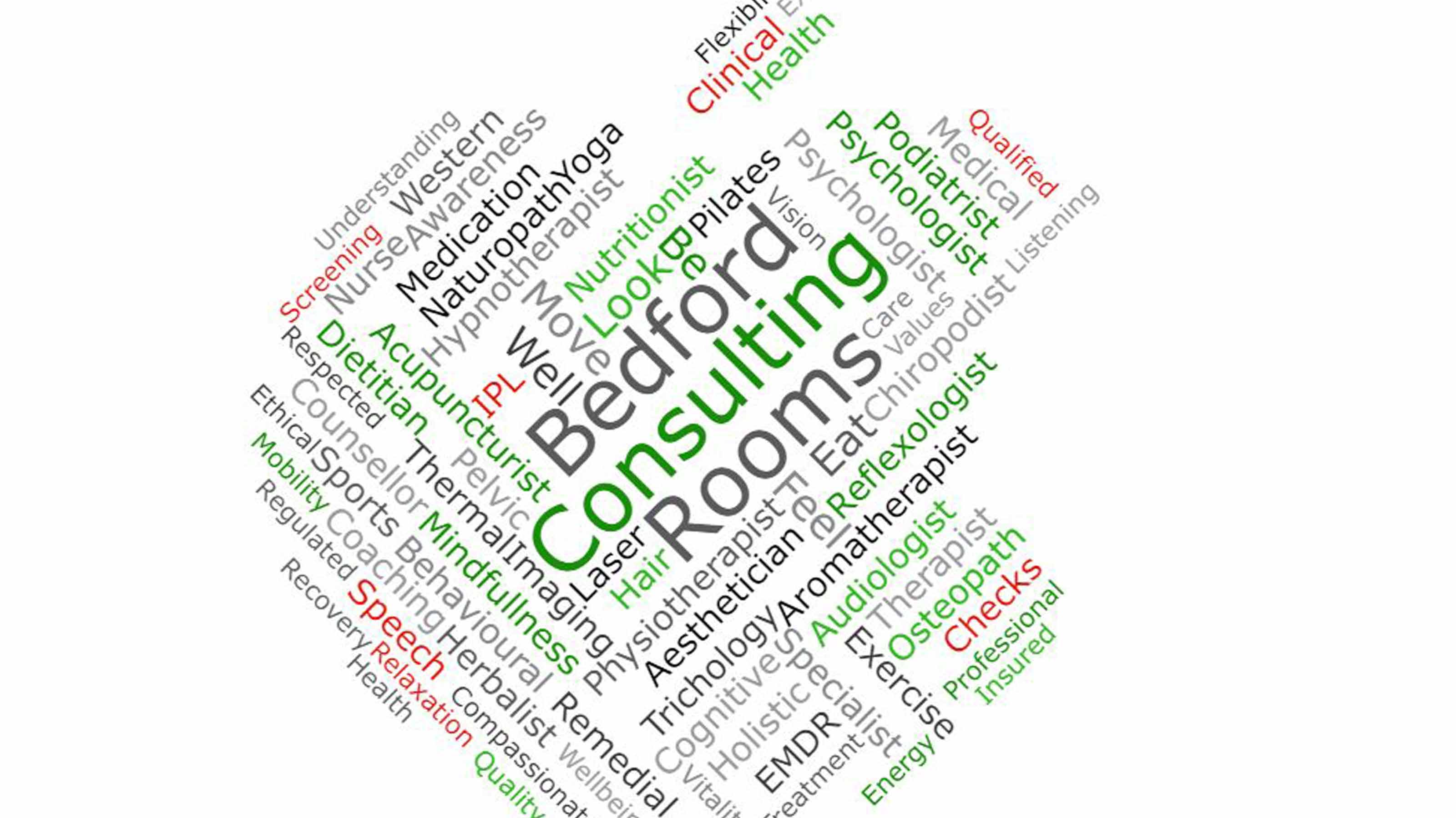 words about bedford consulting rooms