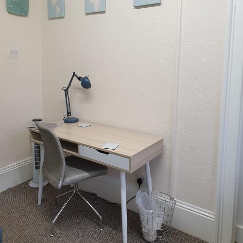 Treatment Room Writing Area