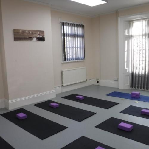 Studio Yoga Setup