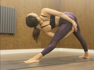 Yoga Sculpt Pose