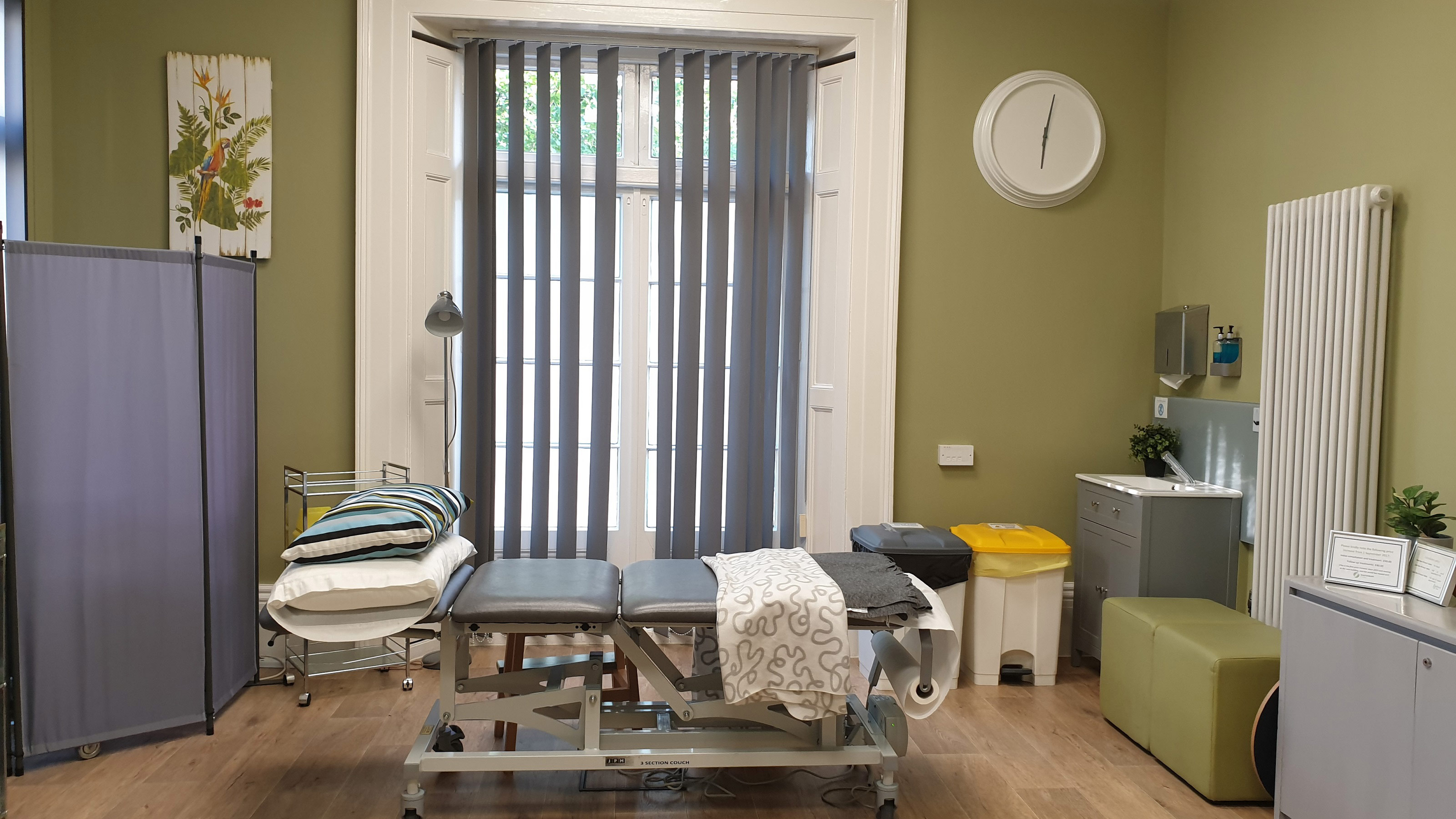 Treatment Room Banner